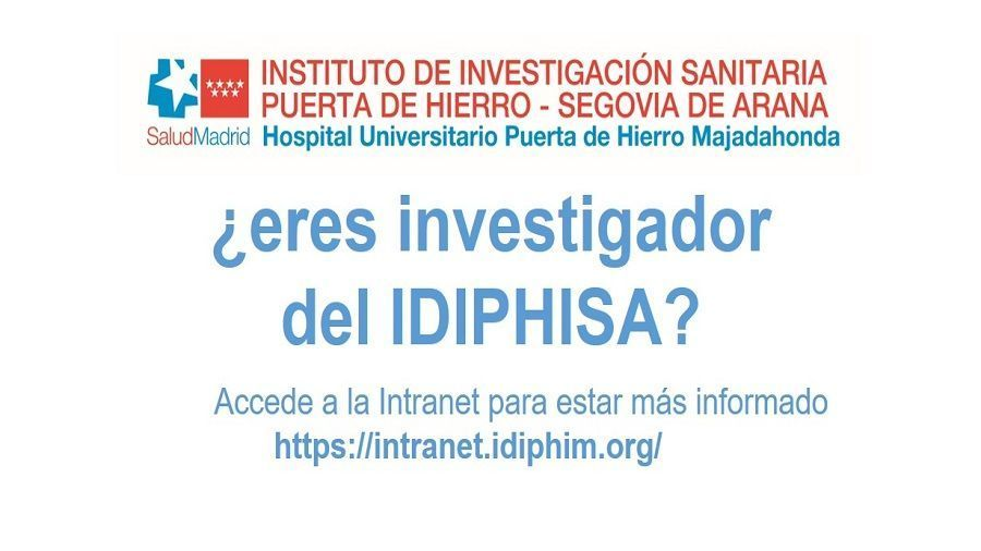 Acceso a Intranet IDIPHISA